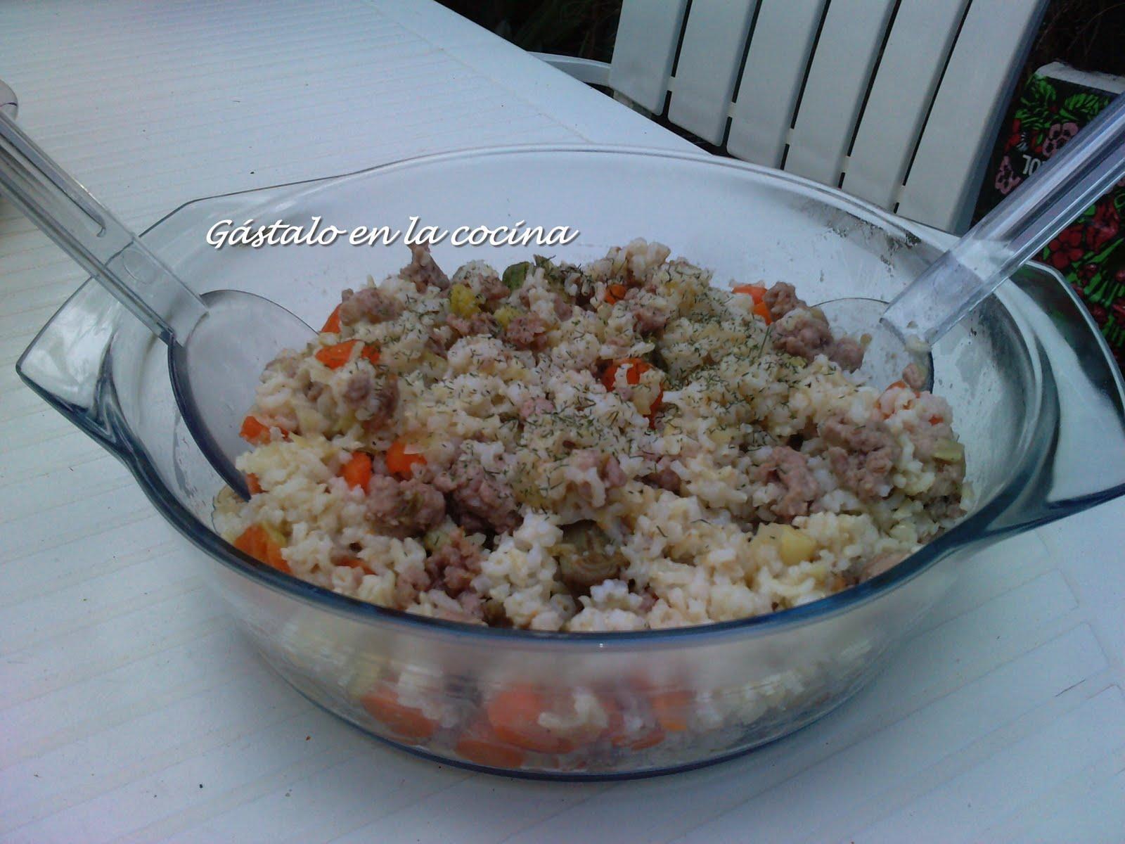 Arroz con verduras (para diabéticos) | Cocina