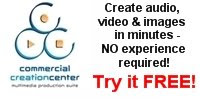 Commercial Creation Center - Try It For Free!