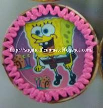 Cupcake-ChocMoist w Edible Image