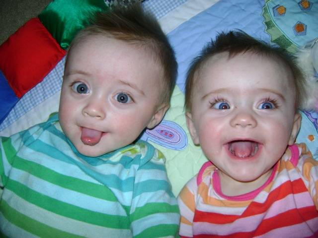Cute and naughty baby boys laughing photos