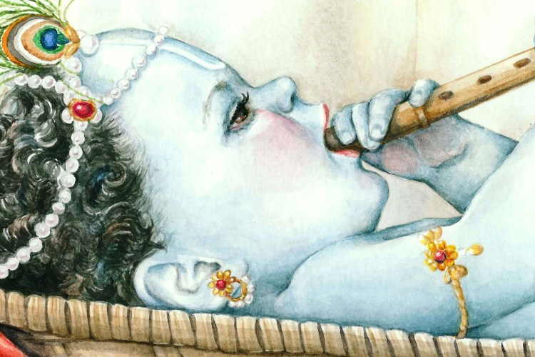 Baby Lord Krishna photos