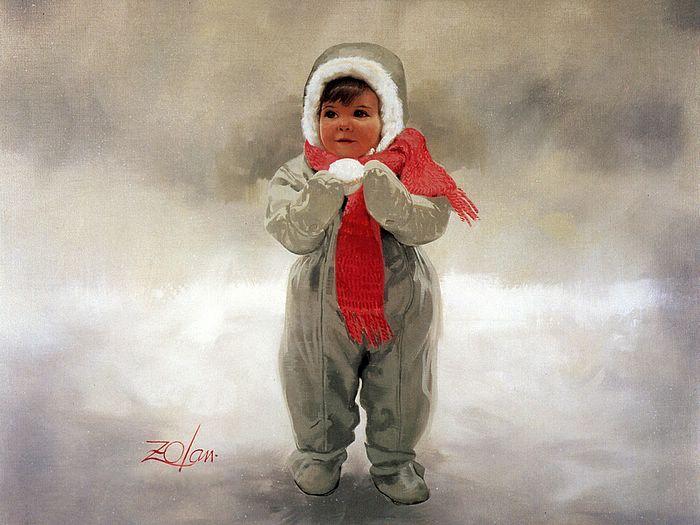 Creative Baby boy girl drawing photos 20