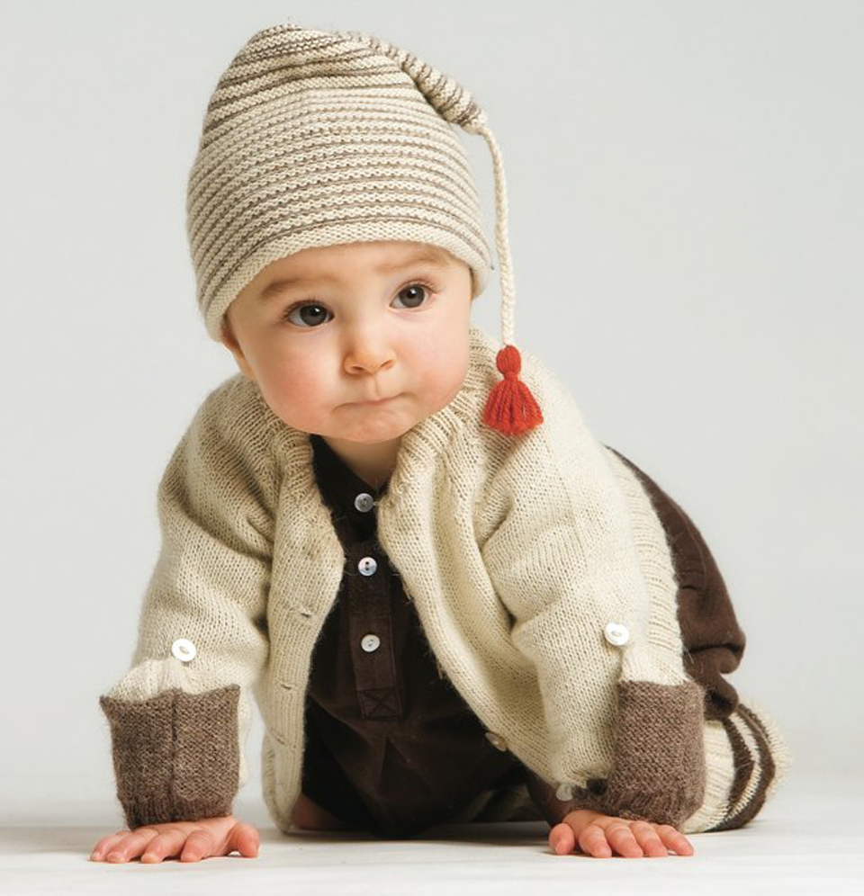 Cute Baby model in winter wear desktop wallpaper.jpeg