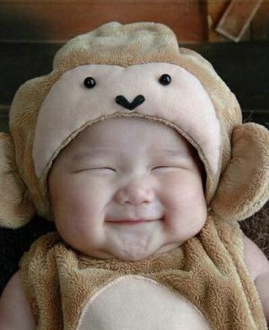 cute smile baby photo 006