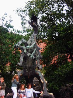 Estatua Dragon Cracovia