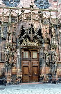 Strasbourg Cathedral by bruno brunelli in Flickr