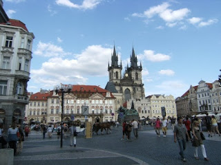 vista de la ciudad de Praga