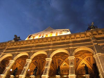 Edificio de la Opera, Viena