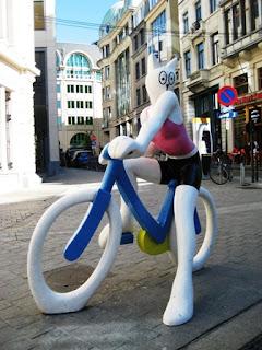 La Cycliste, Alain Séchas