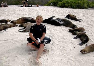 Islas Galápagos, entre lobos marinos