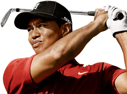 tiger woods logo. Full name: Eldrick Tont Woods