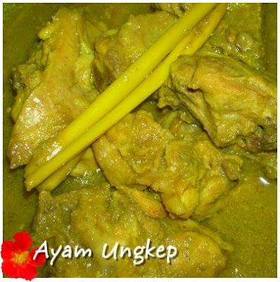 Ayam Masak Ungkep