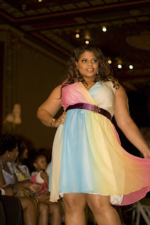 Monif C. Full Figured Fashion Week
