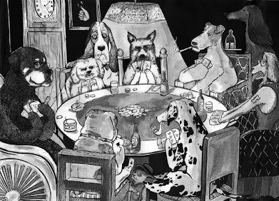 [JUEGO]Quiero foto de.... CasinoPerrosPokerPostal+chica