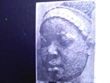 AFRICAN BEAUTY - STONE CARVING FROM NOK-WAGADU CIVILIZATION 3000 BC - 1800 AD - NAGO MINA/BENIN