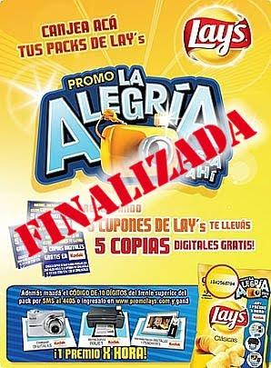 Promo Lays: hasta el 30/09/09