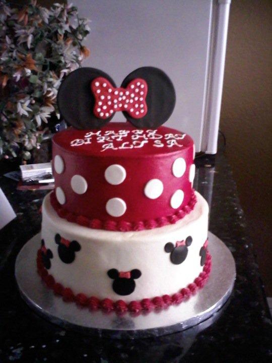 Cake Territory Minnie Mouse Birthday Cake