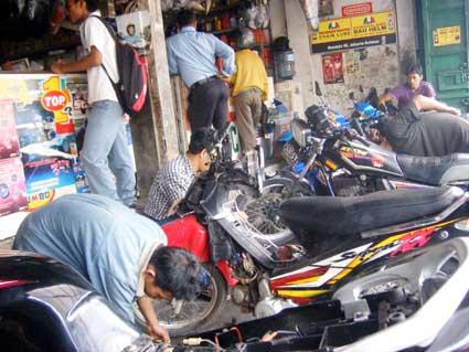 Peluang Usaha Bengkel Motor di Tahun 2014