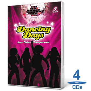 Coletânea Dancing Days - 4 CDs