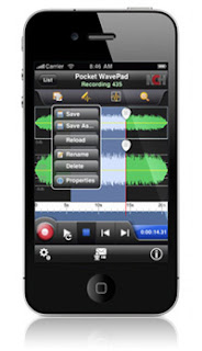 Pocket WavePad Audio Editing Software iPhone App