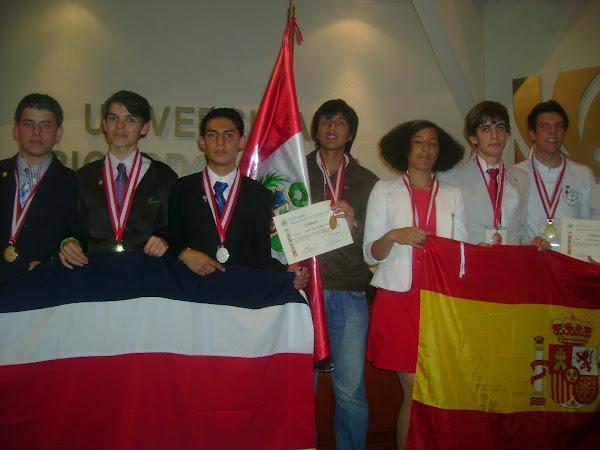 ¡ PERU ES EL NUEVO CAMPEON EN LA IV OLIMPIADA IBEROAMERICANA DE BIOLOGIA O.I.A.B. 2010!