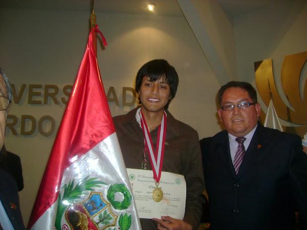 ¡ PERU GANA LA MEDALLA DE ORO EN LA IV OLIMPIADA IBEROAMERICANA DE BIOLOGIA O.I.A.B. 2010 !