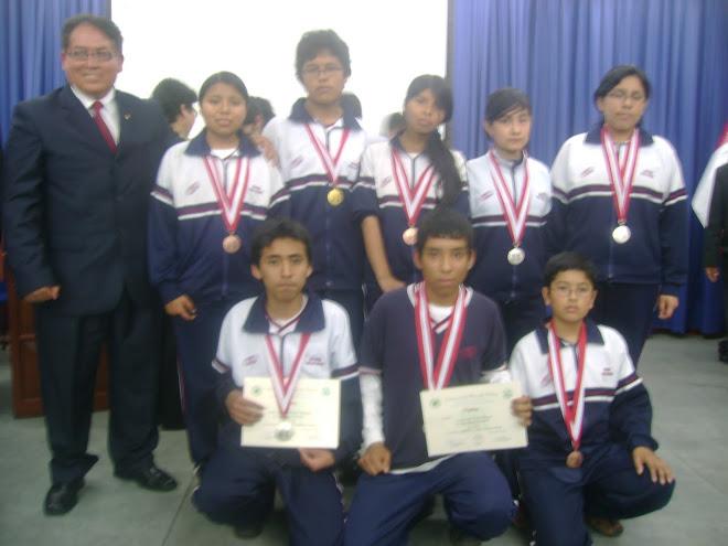 V PERUVIAN BIOLOGY OLYMPIAD 2010
