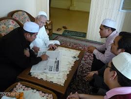 Ziarah Tuan Guru Dato Nik Abd.Aziz Nikmat pada 1 Ramadhan 1430 H