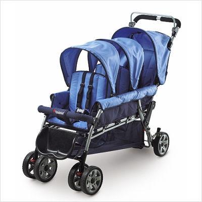 Yaz Very Own Strollers Safe Haven Triple Buggies