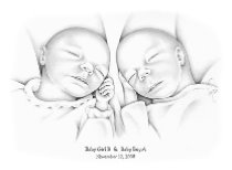 Baby Girl B & Baby Boy A