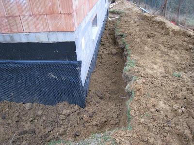 Notre maison lampertsloch drainage - Drainage terrain argileux maison ...