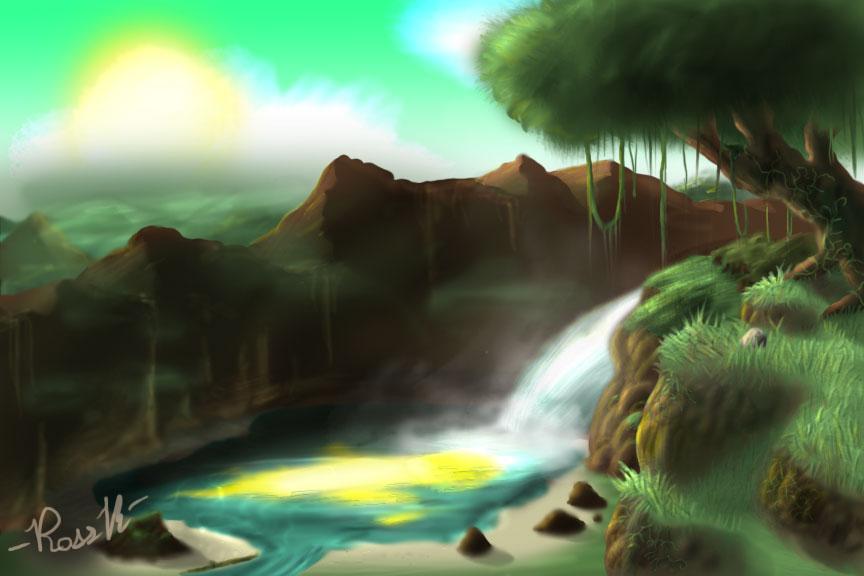 The Haze Falls