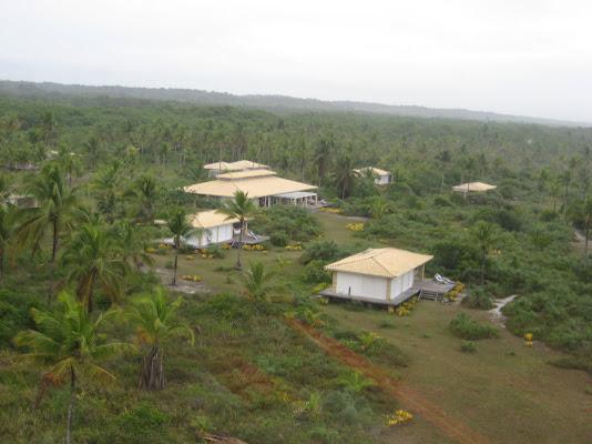 Bangalôs foto aérea