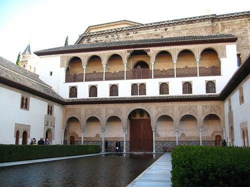 Ramire el palacio de comares - Banos arabes palacio de comares ...