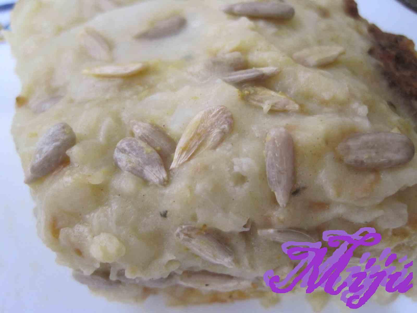 El bocado de la huerta gratinado de patata y apio - Gratinado de patata ...