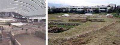 Το λύκειο του Αριστοτέλη: Η ανασκαφή πριν και μετά