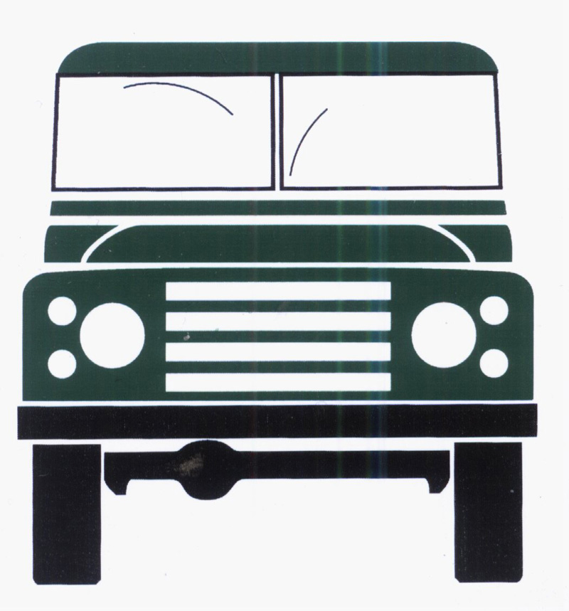 New Land Rover Logo. Land Rover Defender 110 Logo