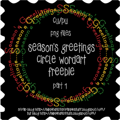 http://hippiedazescrappinstuff.blogspot.com/2009/11/seasons-greetings-circle-wordarts.html
