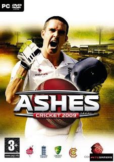 Categoria esporte, Capa Download Ashes Cricket 2009 (PC)