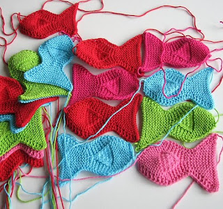 Diagonal Ripple Dishcloth pattern - To Knit is Divine