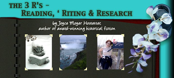 THE 3 R&#39;s - READING, &#39;RITING, &amp; RESEARCH