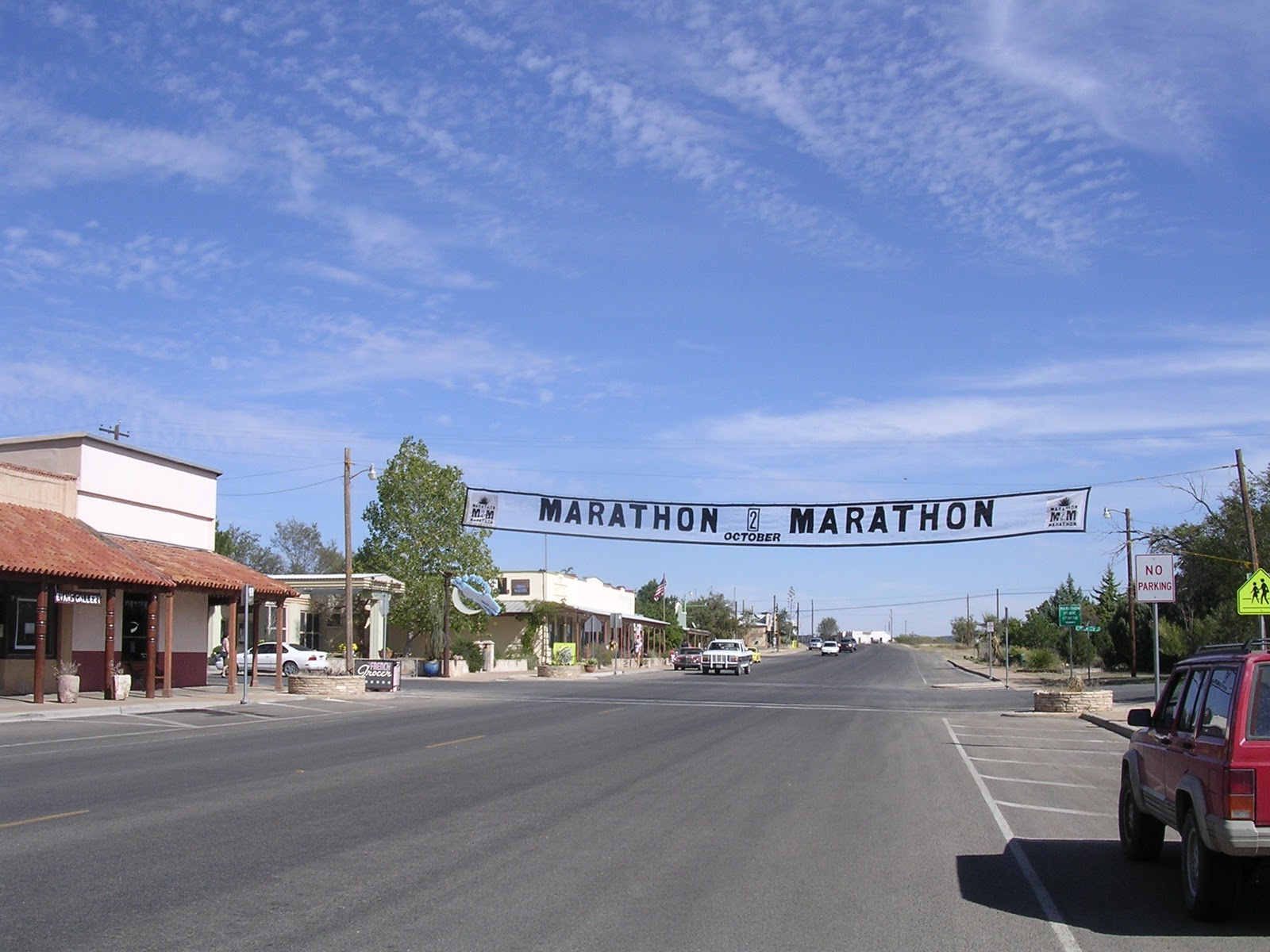 Testerman Travels: Van Horn, TX to Marathon, TX Oct 15marathon town
