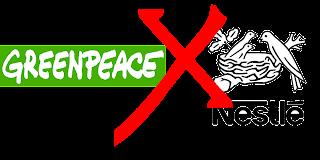 Greenpeace x Nestlé