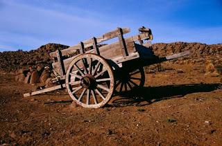 carro in meseta de Somuncura Patagonia
