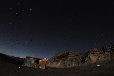 photography at Night in Peninsula Valdes