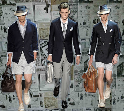 1920s Fashion Images on Ss10 Looks With Archive Advertising Images Providing The Backdrop