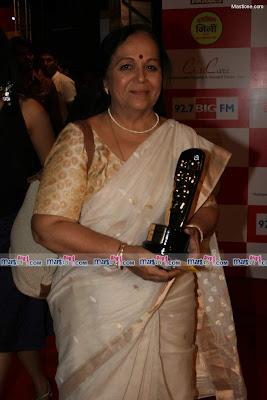Madhur Bhandarkar and Shweta Salve at BIG FM Marathi Awards Photos