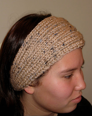 Knitting Patterns For Ear Warmers With Flower : Paulinas Blog: One-Hour Earwarmer Pattern