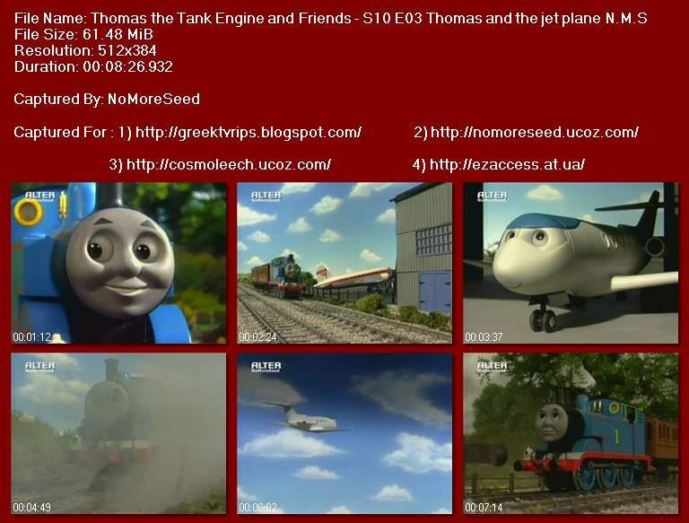 Τόμας Το Τρενάκι - Thomas The Tank Engine & Friends -  S10E03 - Thomas And The Jet Plane N.M.S. (ALTER)