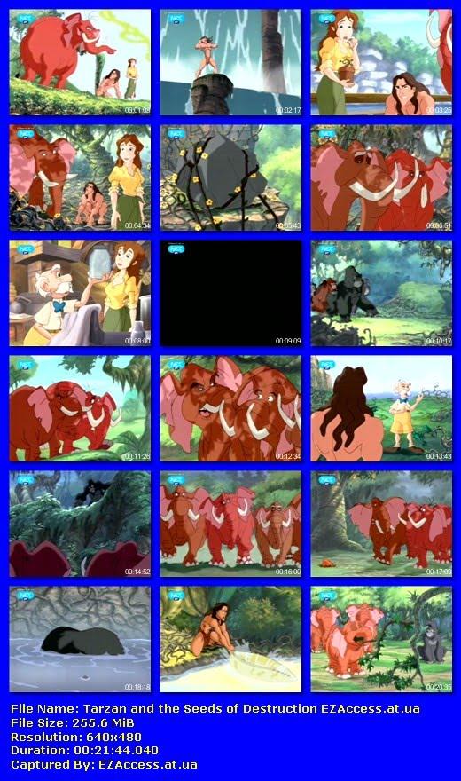 ΤΑΡΖΑΝ Ο ΘΡΥΛΟΣ Ep 18 - THE LEGEND OF TARZAN: Tarzan and the Seeds of Destruction (NET)